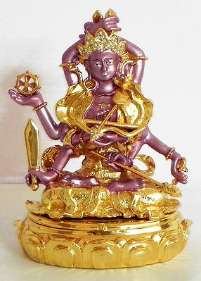 Gold Plated Red Tara