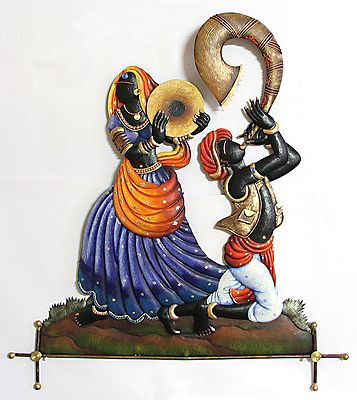 Tribal Dancers Of India Wall Hanging