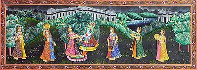 Radha Krishna Dance to the Music of the Gopinis