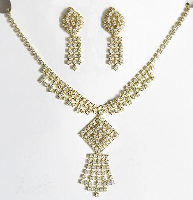 Stone Studded Party Jewelry