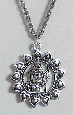 Shiva Pendant with Chain