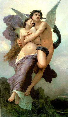 Psyche and Cupid by William Bouguereau