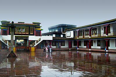 Dharma Chakra Centre, Rumtek - East Sikkim, India
