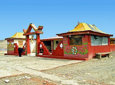 Sarva Dharma Sthala at Gurudongmar - North Sikkim, India