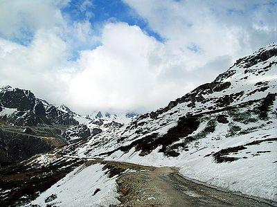 Road to Katao Valley - North Sikkim Sikkim, India