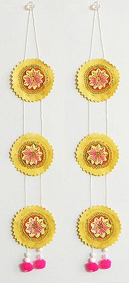 Chandmala - Accessory to Hang from the Deity's Hands
