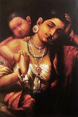 Yasohda and Krishna