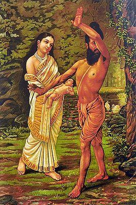 Birth of Shakunthala