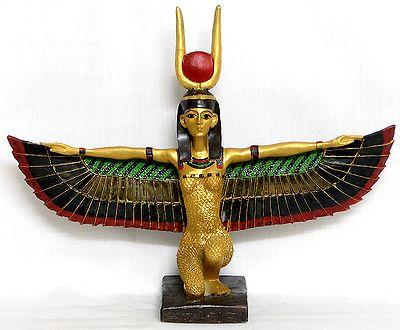 Isis Egyptian Goddess Of Magic And Life Statue
