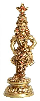 Lord Krishna Resin Statue Height 6 25 Inches