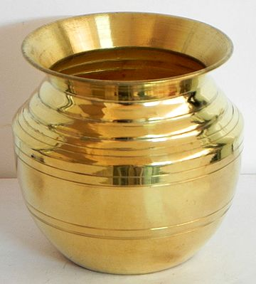 Brass Kalash for Holy Water