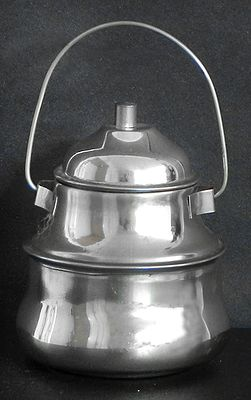 Stainless Steel Ritual Container with Lid