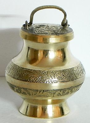 Brass Kamandalu for Holy Water