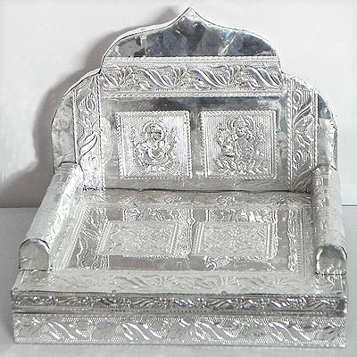 Metal Carving Ritual Throne for Deity
