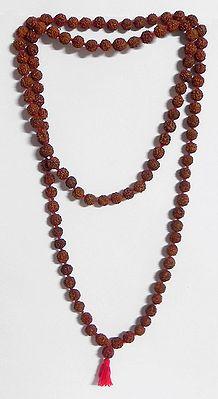 Japa Mala or Prayer Mala with Rudraksha Beads