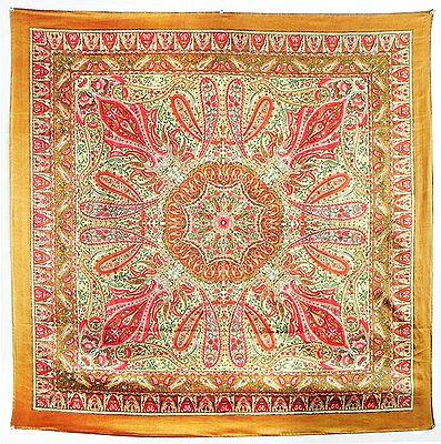 Printed Satin Silk Head Scarf
