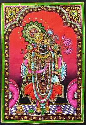 Krishna as Dwarkadheesh