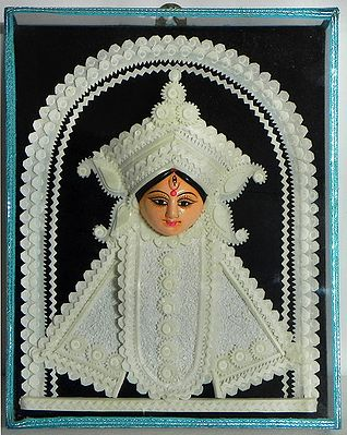 Face of Goddess Durga - Wall Hanging