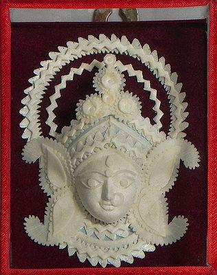 Face of Goddess Durga - Wall Hanging