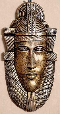 The Egyptian Pharaoh - Wall Hanging Mask