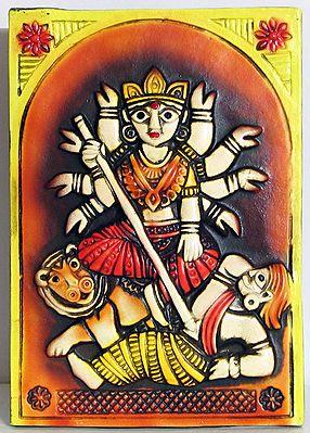 Mahishasuramardini Durga - Wall Hanging
