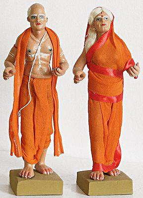 Old Brahmin Couple