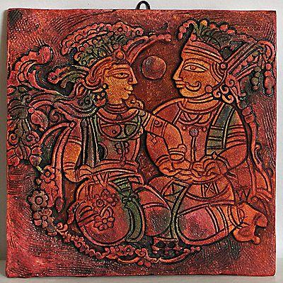 Shakuntala and Dushyanta - Wall Hanging