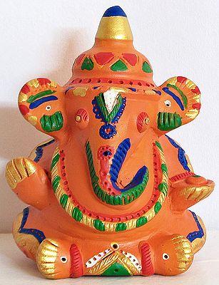 Ganesha as Bridegroom