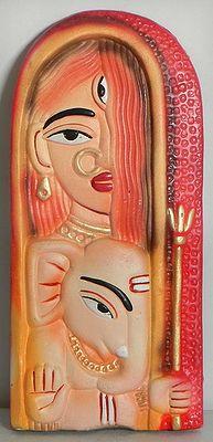 Durga and Ganesha - Wall Hanging