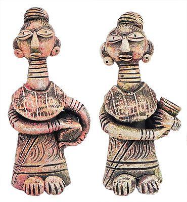 Pair of Tribal Women