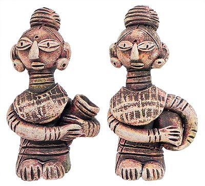 Pair of Tribal Women