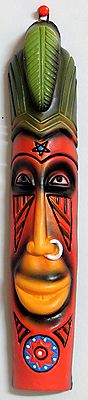 The Tribal Mask - Wall Hanging
