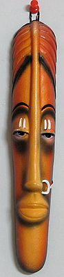 The Tribal Woman Mask - Wall Hanging