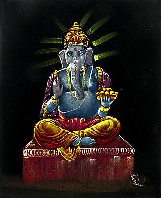 Ganesha as King