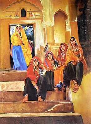 Rajasthani Village Girls