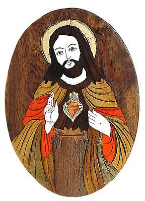 Jesus Christ - Wood Inlay Work
