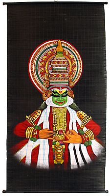 Kathakali Dancer Wall Hanging