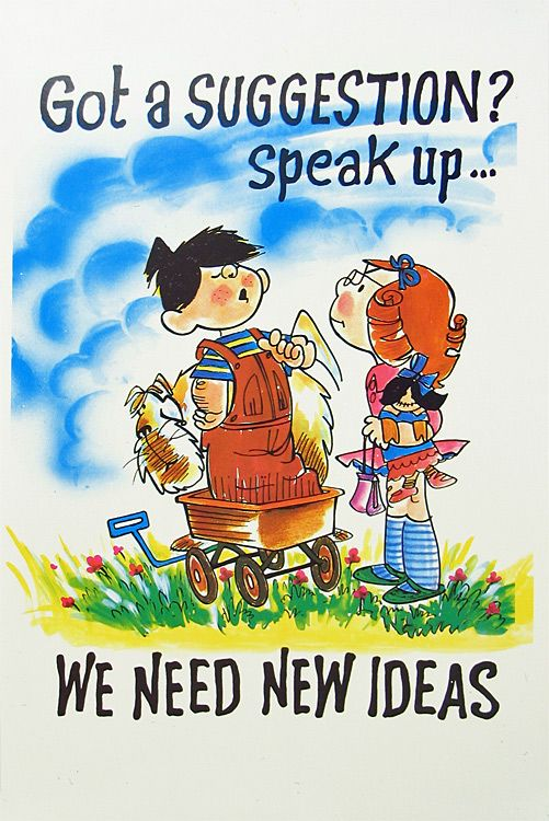 New Ideas Needed Poster