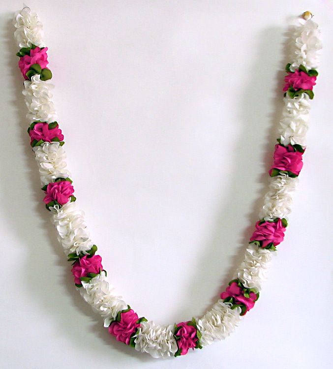 White light pink and olive green combination artificial flower garland combination artificial flower garland hover to zoom mightylinksfo
