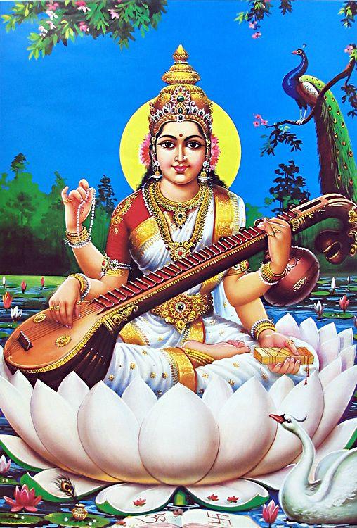 God saraswati image wallpapers