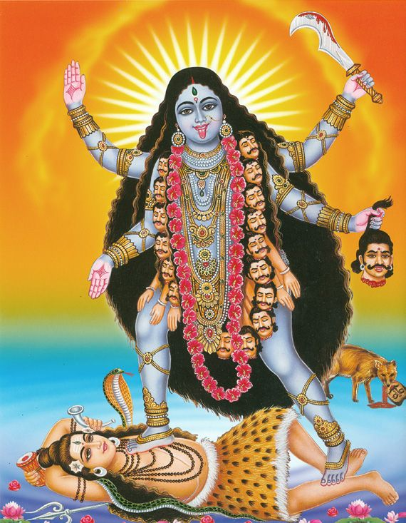 goddess kali paper This paper aims to demonstrate the duality of kali, particularly relating to her destructive abilities as a means to act as a guide through a period of transformation.