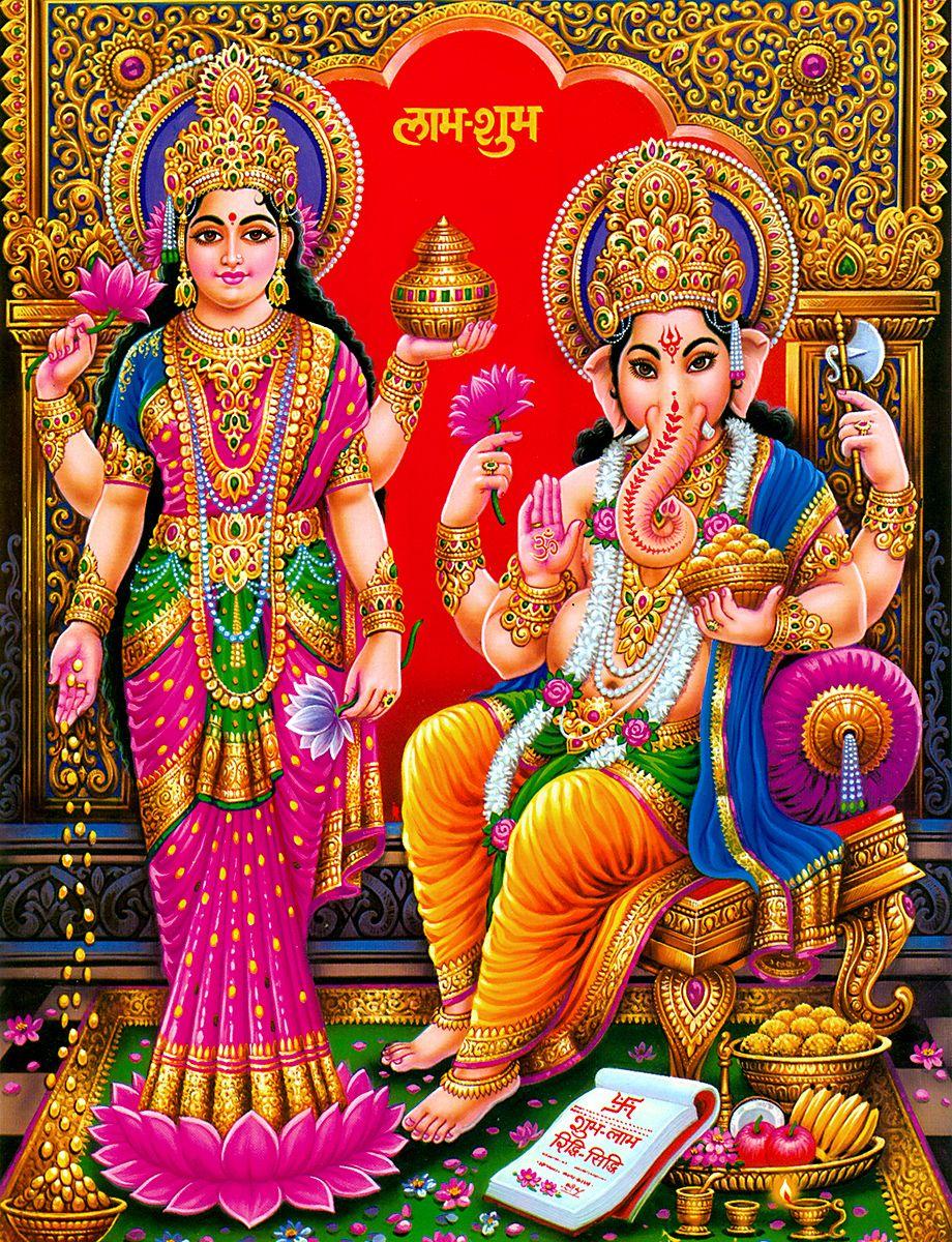 「Ganesh  Lakshmi」的圖片搜尋結果