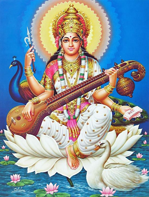 saraswati goddess of music