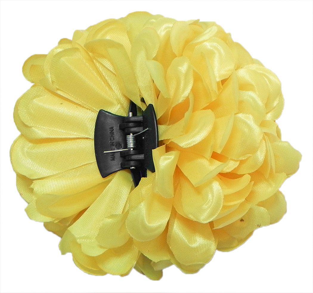 Yellow Flower Hair Clutcher