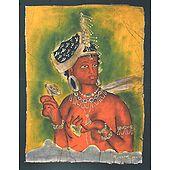 Ajanta Bodhisattva - Batik Painting