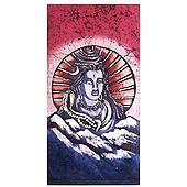 Lord Shiva - Batik Painting on Cloth