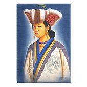 Nepali Lady - Painting on Cotton Cloth