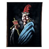 Old Man from Tibet - Painting on Cotton Cloth