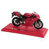 Red Acrylic Suzuki Motor Bike
