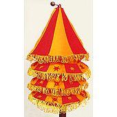 Foldable Hanging Circular Lamp Shade
